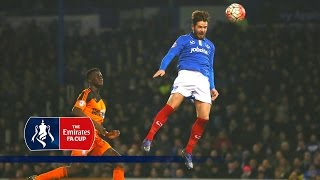 Portsmouth 2-1 Ipswich (Replay) Emirates FA Cup 2015/16 (R3) | Goals & Highlights