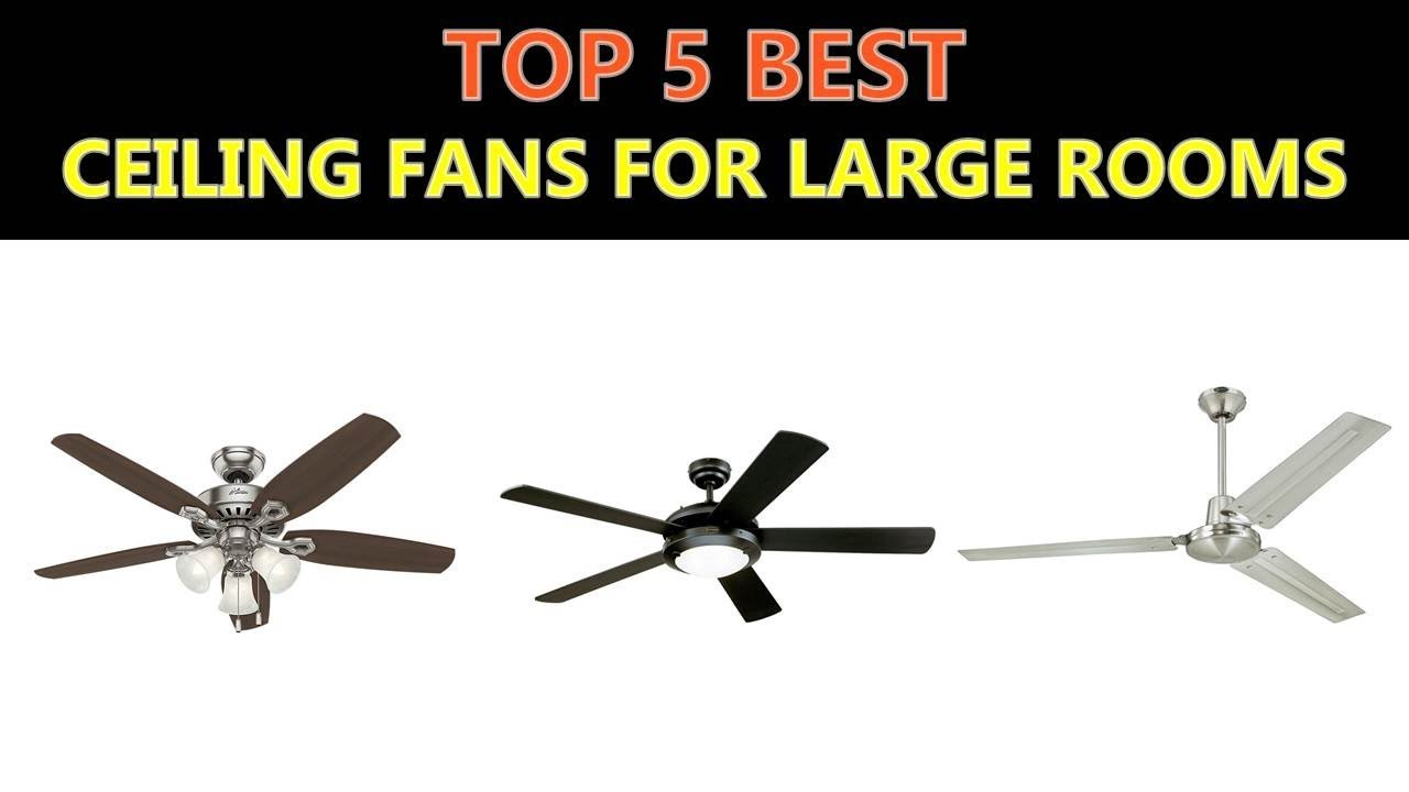 Best ceiling fans for large rooms 2018 youtube best ceiling fans for large rooms 2018 aloadofball Image collections