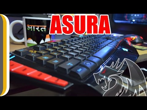Redragon Asura Gaming Keyboard Unboxing & Review by UrIndianConsumer