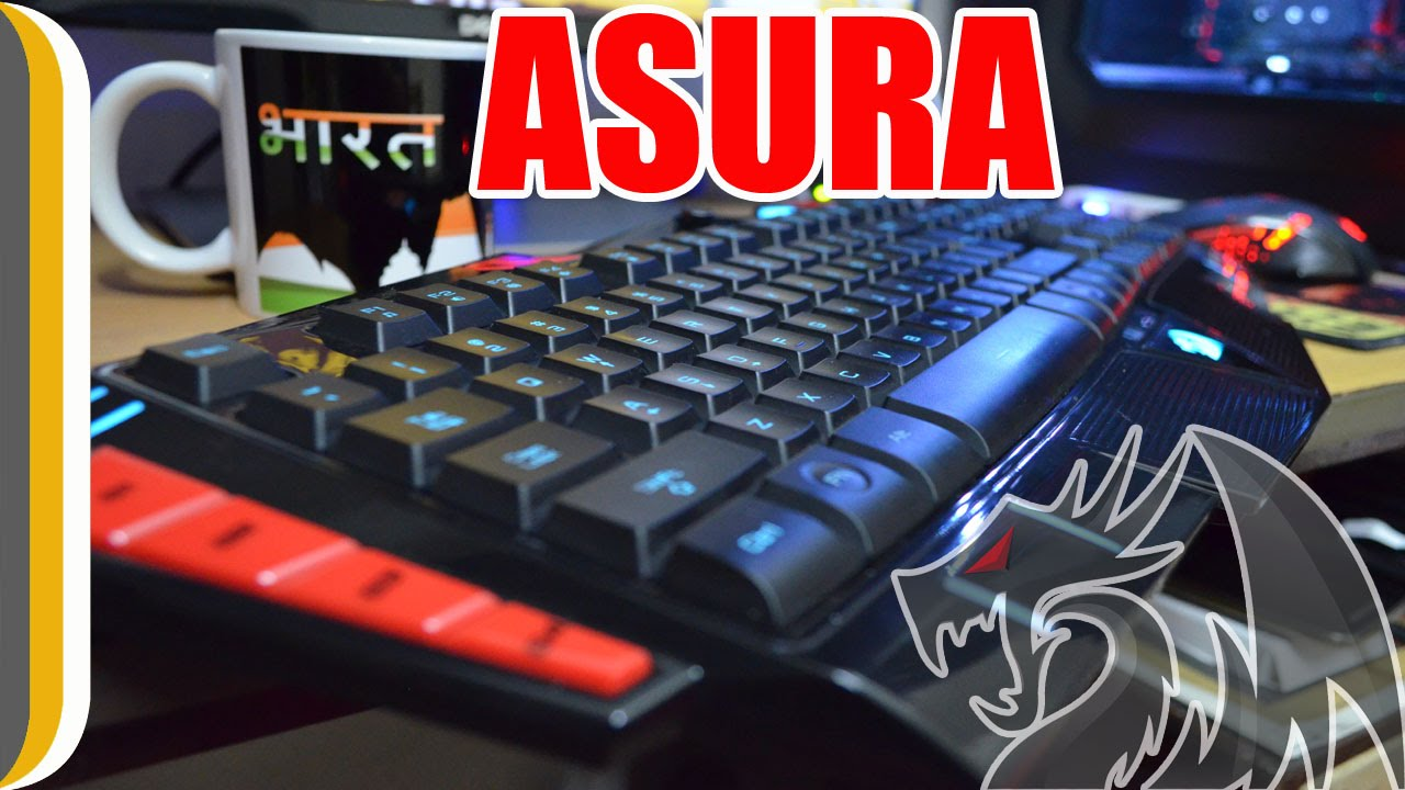 Redragon Asura Gaming Keyboard Unboxing Review By Urindianconsumer