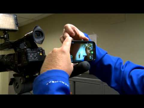 Cell phone LiveU reporter training