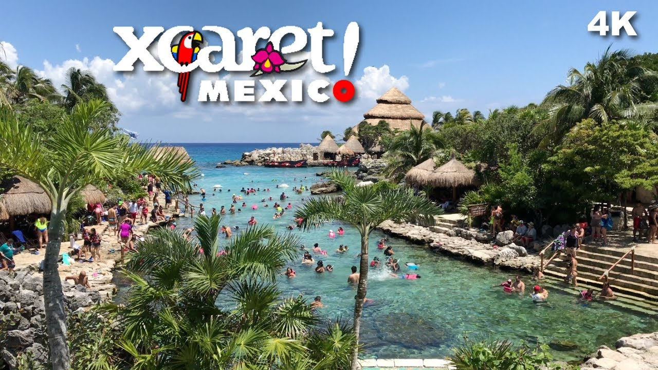 Xcaret Eco Park Riviera Maya Attractions Mexico Cancun 4k Uhd Youtube