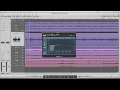 Part 5 : วิธีการ EQ Tom,Over Head,Percussion,วิธีการ มิกซ์ กลอง ทอม,OH,เปอคัชชั่น - Lesson #25