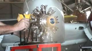 clayton s 9 cylinder radial engine