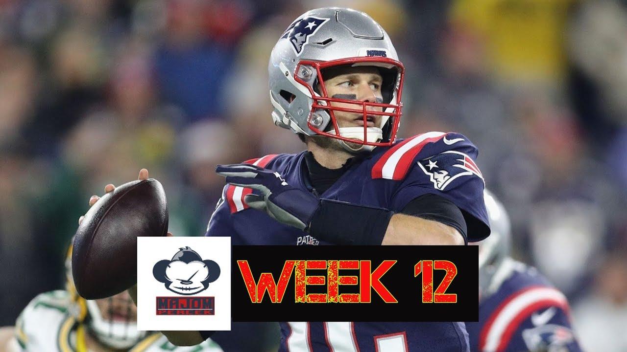 NFL Fogadás - 12. hét