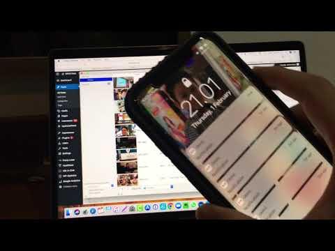 Cara memindahkan file photo/video dari iphone ke laptop mac anda