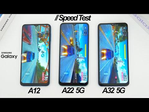Speed Test: Samsung Galaxy A12 vs A22 5G vs A32 5G Comparison!