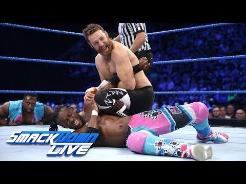 Kofi Kingston vs. Sami Zayn: SmackDown LIVE, Nov. 7, 2017