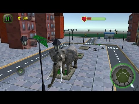 Ultimate Elephant Rampage 3D Android Gameplay #2