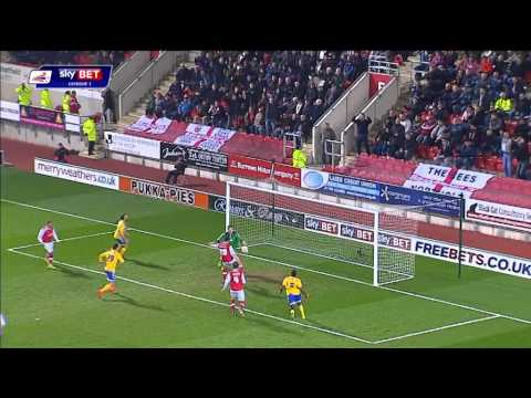 Rotherham v Brentford - League One 13/14 Highlights