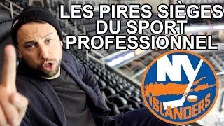 LES PIRES SIÈGES DU SPORT PROFESSIONNEL - Hockey