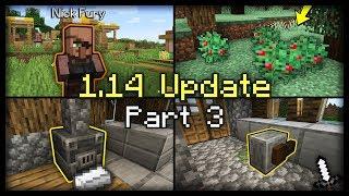 Các cập nhật mới trong phiên bản minecraft 1.14 - Phần 3
