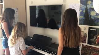 Gözleri Aşka Gülen Piyano Cover Video