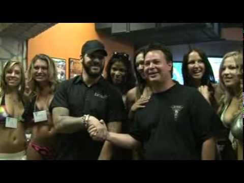 Tatuaje Party with Pete Johnson for 2011 Calendar Auditions