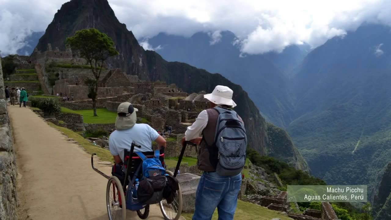 """Wheel the World"" Bikin Machu Picchu dapat Diakses Kursi Roda"