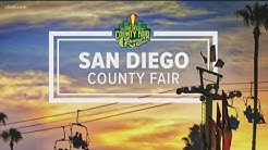 It's opening day of the San Diego County Fair
