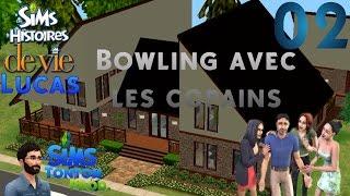 Les Sims : Histoire de vie [Lucas] - ep02 : Bowling avec les copains