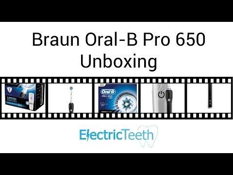 braun-oral-b-pro-650-electric-toothbrush-unboxing