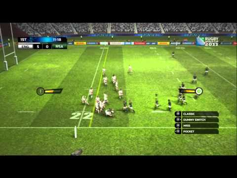 Rugby World Cup 2011 Game (DEMO) - Gameplay