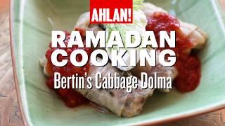 Ahlan! Ramadan Cooking: Bertin's Cabbage Dolma