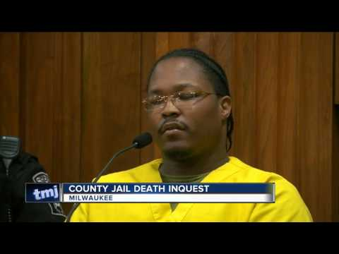 Jury views video from dead inmate's stay in jail