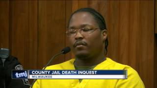 Jury views video from dead inmate