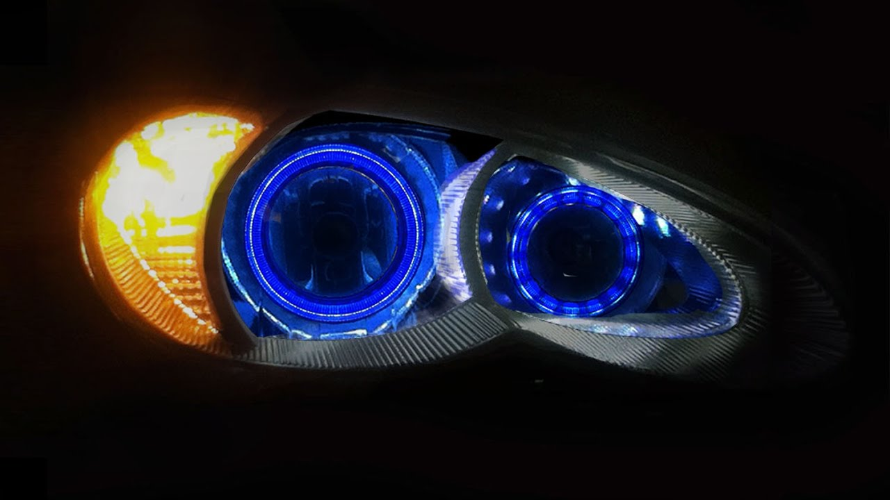 2006 To 2010 Chrysler Pt Cruiser 16 Color Changing Led Halo Headlights