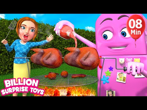 Funny Refrigerator (come to life) |+More BST Kids Songs & Nursery Rhymes
