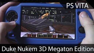 PS Vita - Duke Nukem 3D Megaton Edition Gameplay