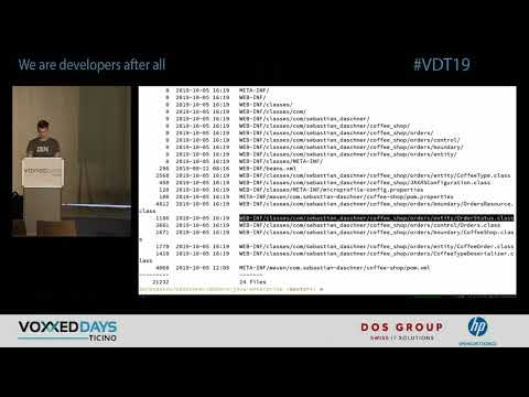 [VDT19] Modern Enterprise Java from the ground up by Sebastian Daschner