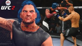 Jeff Hardy! Everyone Wants To Grapple?! EA Sports UFC 2 Online Gameplay