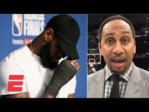 Stephen A. on LeBron James: 'I don't want to hear no more comparisons' after Game 4 | ESPN