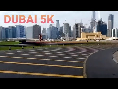 dubai 5k  _ drive in afternoon  Feb -2021 _ HD