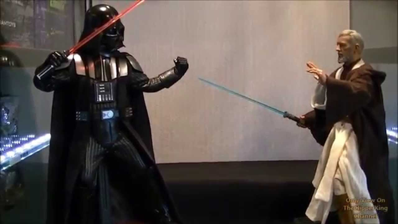 hot toys darth vader a new hope youtube