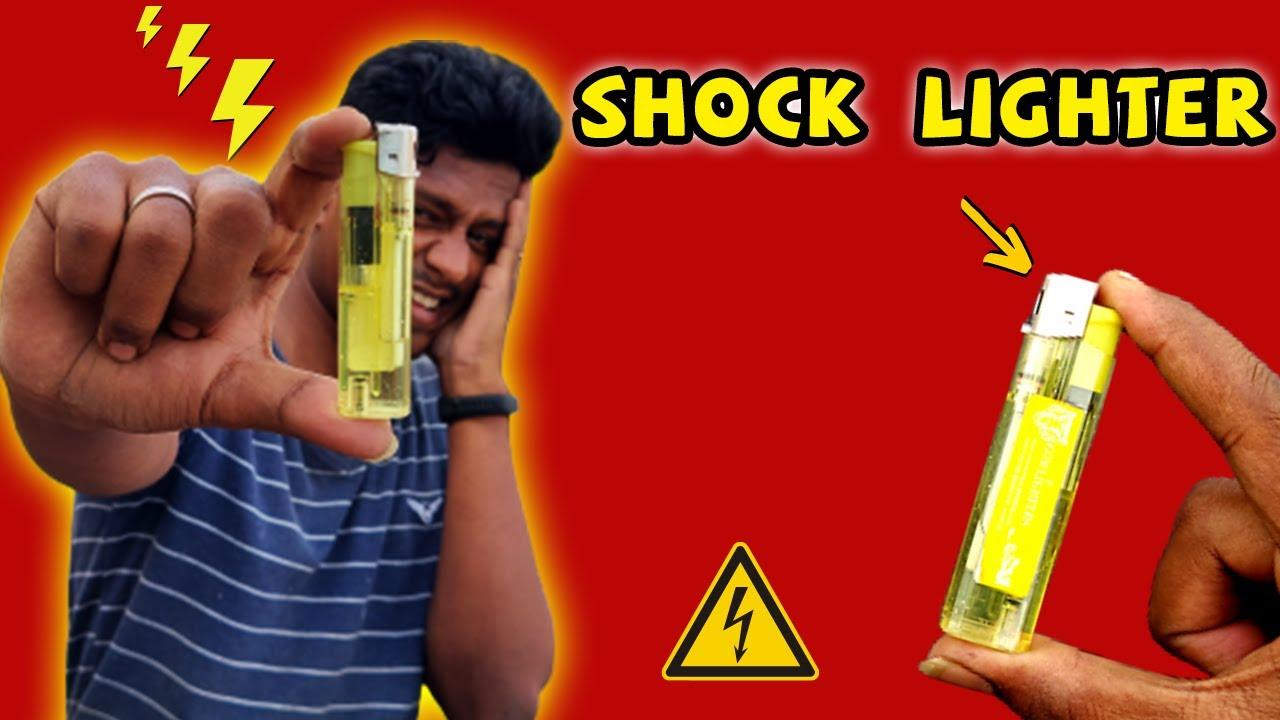 How to Make a Shock Lighter ⚡| என்ன இத அமுக்குனா SHOCK அடிக்குது! | Vijay Ideas
