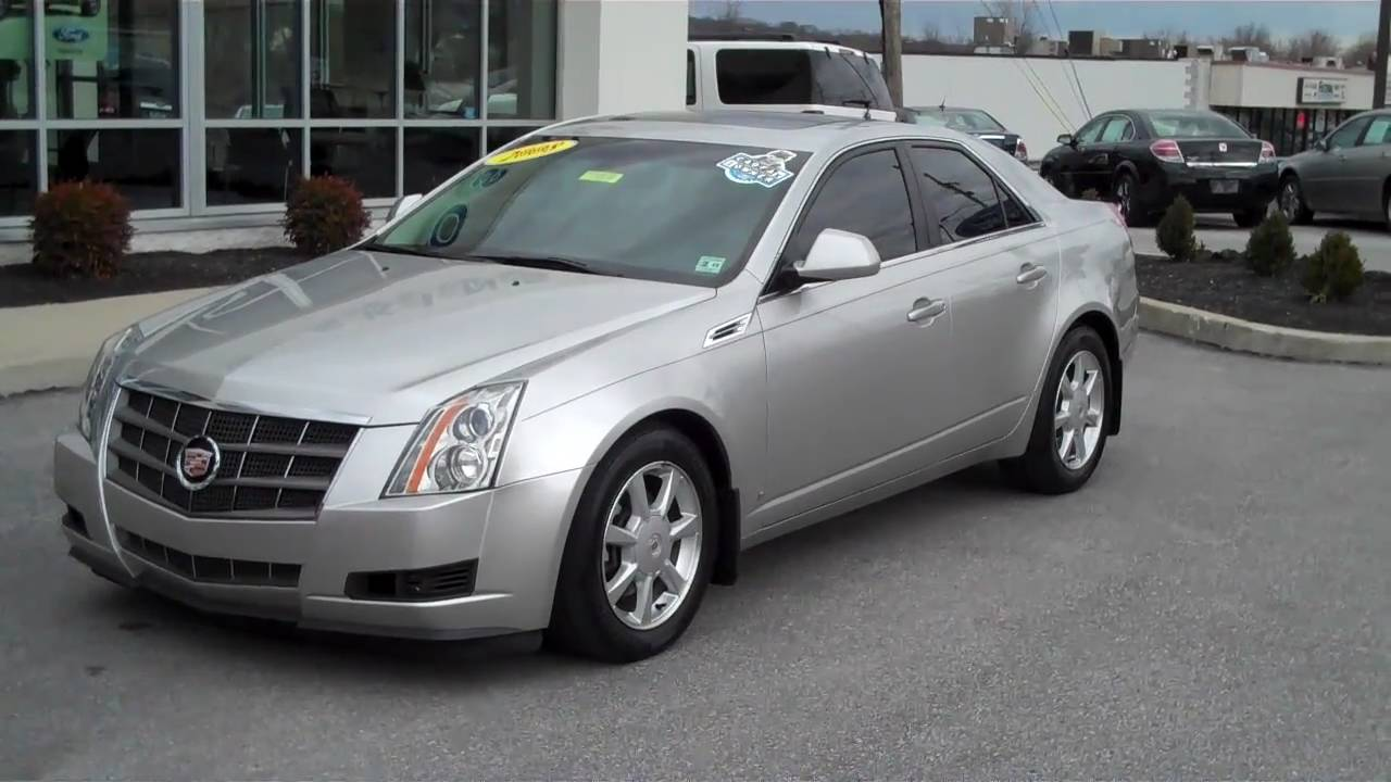 2008 cadillac cts awd 3 6 vvt v6 for sale brian hoskins ford youtube. Black Bedroom Furniture Sets. Home Design Ideas