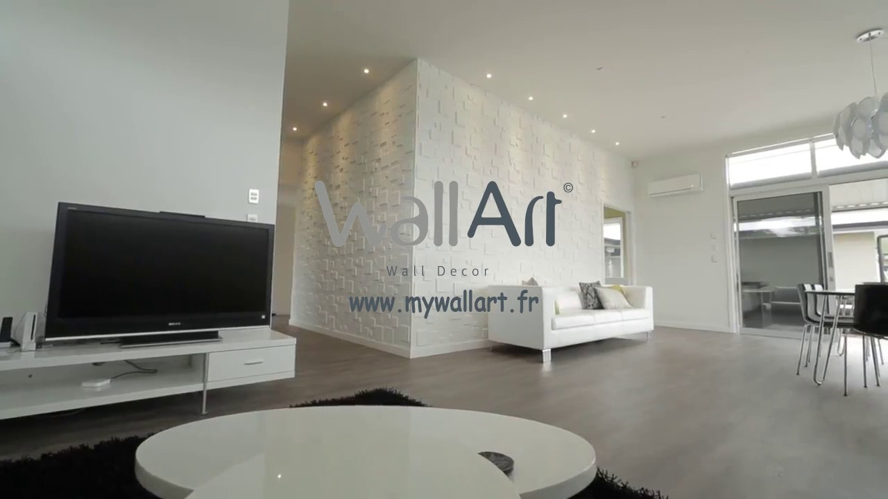 panneau mural 3d donnez de la vie vos murs youtube. Black Bedroom Furniture Sets. Home Design Ideas
