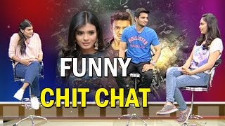 Nikhil Interviews Nandita Swetha and Hebah Patel || Ekkadiki Pothavu Chinnavada Interview || NTV