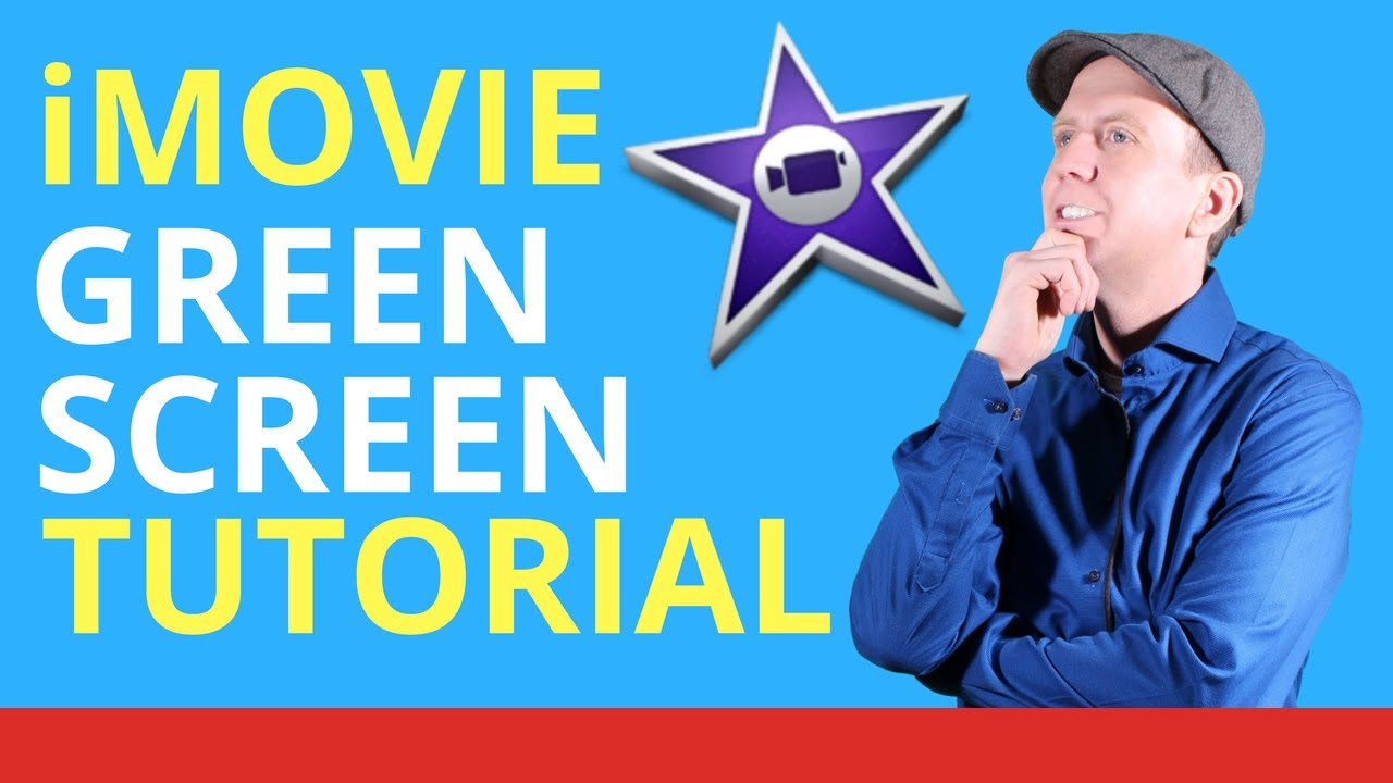 how to make a green screen on imovie