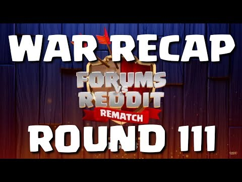 FORUMS vs REDDIT - ROUND 3 - RECAP, 20 REPLAYS! (Official)
