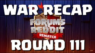 FORUMS vs REDDIT - ROUND 3 - RECAP, 20 REPLAYS! (Official)