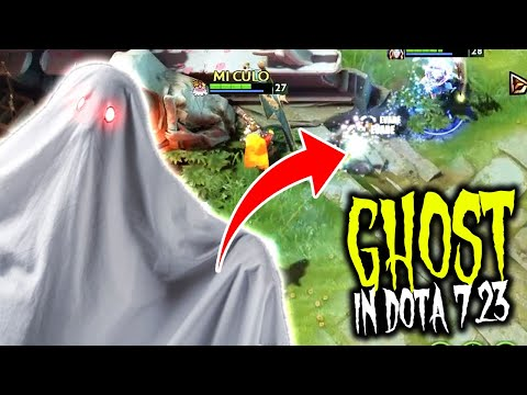 Ghost In Dota 2 - Ghost Trying To Kill CM And Sniper LoL Patch 7.23