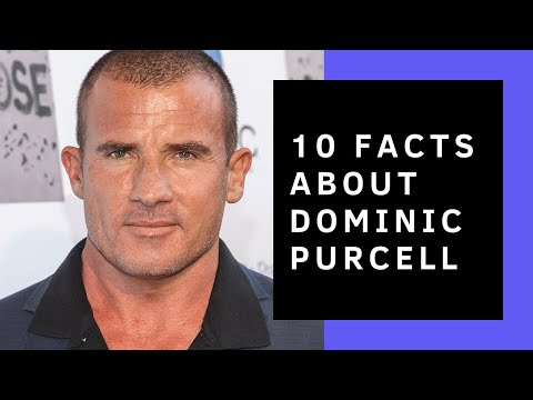 Dominic Purcell // 10 Facts You Didn't Know About Him