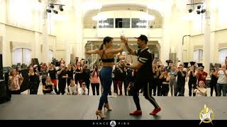 Salsa ON1 Adrian and Anita at | HSW 2019 | by Dance Vida