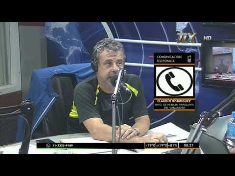 Claudio Rodriguez - Hermano de Hernán TRipulante Ara San Juan - El Exprimidor
