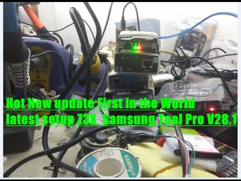 Hot New update First in the World latest setup Z3X  Samsung Tool Pro V28.1