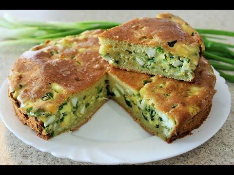 ЗАЛИВНОЙ ПИРОГ НА СКОРУЮ РУКУ! Вкуснейший наливной пирог с начинкой из яиц и лука