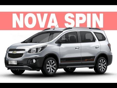 Nova Chevrolet Spin 2018 2019 Ficha Tcnica Preo Consumo Youtube