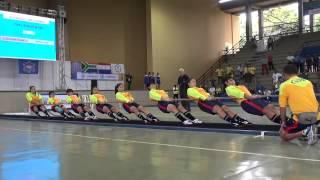 中华台北2013世界运动会女子540KG拔河比赛视频之一