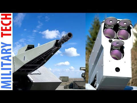 NEWEST Technology Air Defense Systems from Rheinmetall